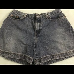 Jean shorts, size 14